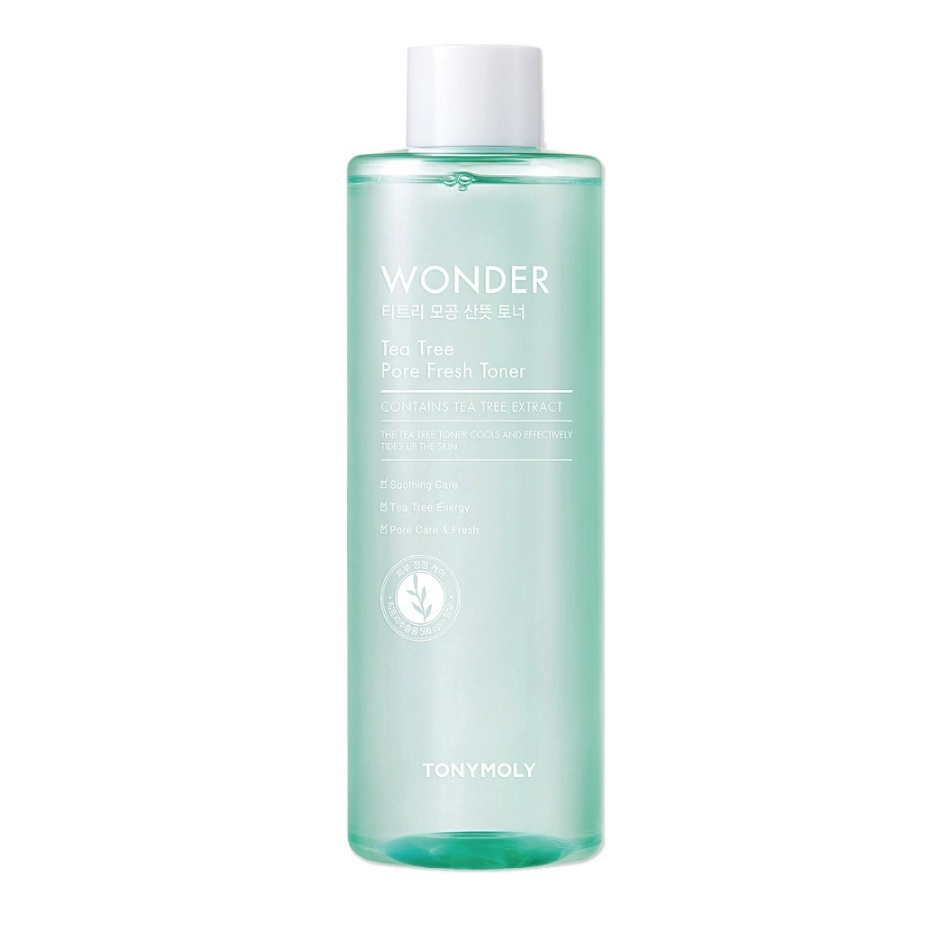 TONYMOLY Wonder Tea Tree Pore Refreshing Toner korean skincare product online shop malaysia China india1