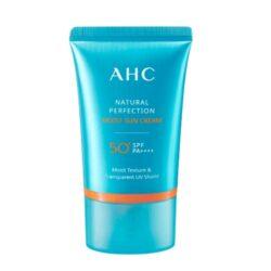 AHC Natural Perfection Moist Sun Cream korean skincare product online shop malaysia hong kong taiwan