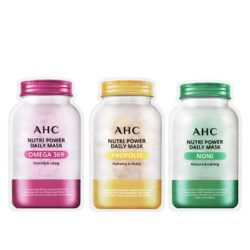 AHC Nutri Power Daily Mask korean skincare product online shop malaysia China India