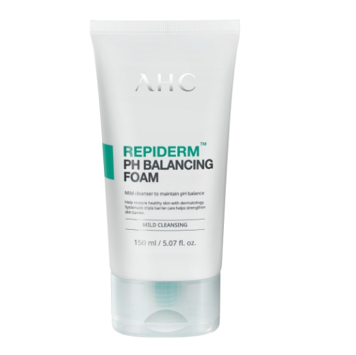AHC Repiderm PH Balancing Foam korean cosmetic makeup product online shop malaysia China India1