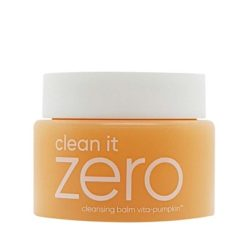 Banila Co Clean It Zero Cleansing Balm Vita Pumpkin korean skincare product online shop malaysia china macau00000