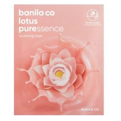 Banila Co Lotus Pure Essence Mask nourishing korean cosmetic skincare product online shop malaysia China macau