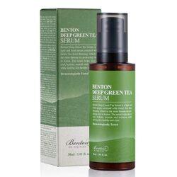 Benton Deep Green Tea Serum korean cosmetic skincare product online shop malaysia China indonesia0