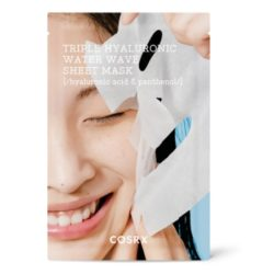 COSRX Hydrium Triple Hyaluronic Water Wave Sheet Mask korean cosmetic skincare product online shop malaysia China philippines