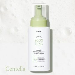 Etude House Soon Jung Centella 6.5 Whip Cleanser korean cosmetic cleansing product online shop malaysia macau thailand