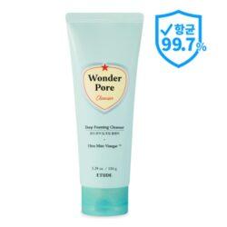 Etude House Wonder Pore Deep Foaming Cleanser korean cosmetic cleansing product online shop malaysia macau thailand