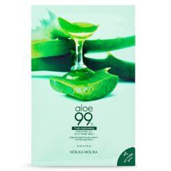 Holika Holika Aloe 99% Soothing Gel Jelly Mask Sheet korean cosmetic skincare product online shop malaysia