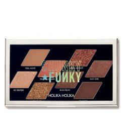 Holika Holika Chunky Metal Shadow Palette korean makeup product online shop malaysia China indonesia