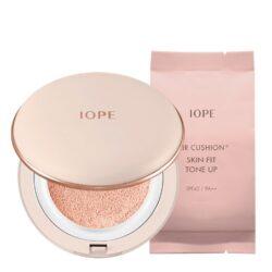 IOPE Air Cushion Skin Fit Tone Up 15g+15g korean makeup product online shop malaysia macau china
