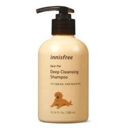 Innisfree Dear Pet Deep Cleansing Shampoo [Recommended for oily and short hair] 300ml korean skincare product online shop malaysia China India