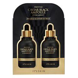 It's Skin Caviar Black Ampoule D'escargot korean skincare product online shop malaysia China finland