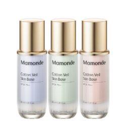Mamonde Cotton Veil Skin Base korean skincare makeup product online shop malaysia Thailand vietnam