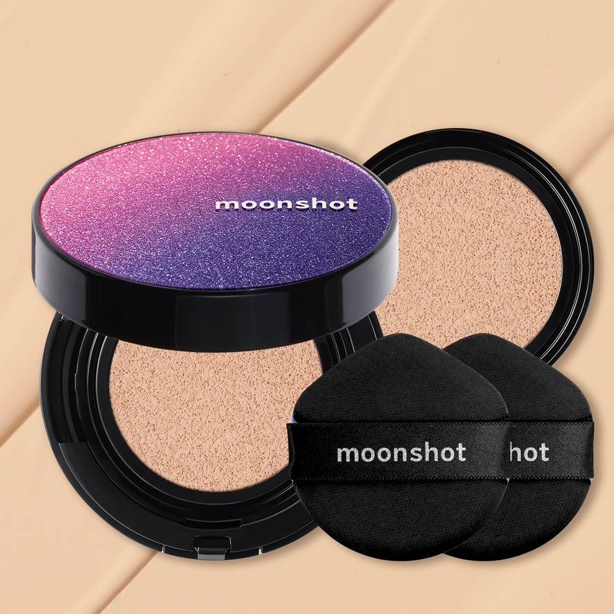 Moonshot Micro Correct Fit Cushion SPF50+ PA+++ 15g + 15g refill korean skincare product online shop malaysia China macau