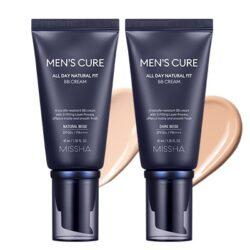 Missha Men's Cure All Day Natural Fit BB Cream korean men skincare product online shop malaysia China Macau