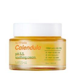 Missha Sunhada Calendula pH 5.5 Soothing Cream korean skincare product online shop malaysia China Macau