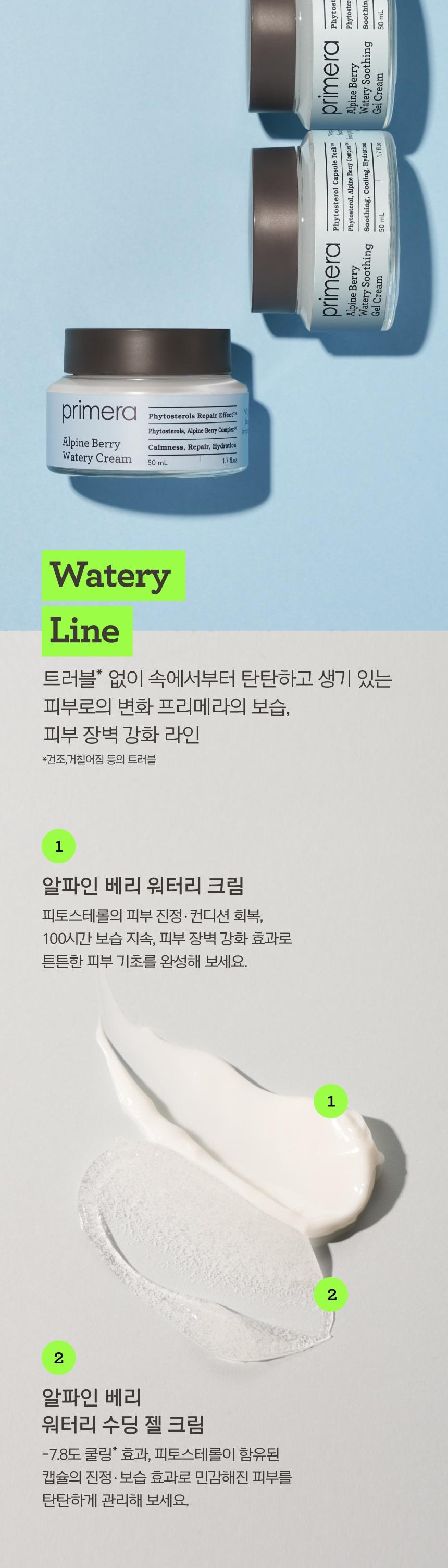 primera Alpine Berry Watery Soothing Gel Cream korean skincare prduct online shop malaysia sweden macau6