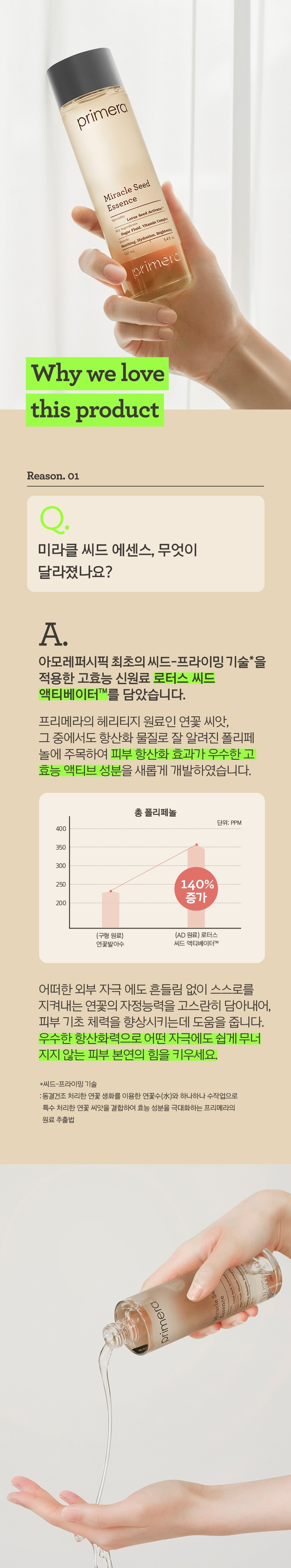 primera Miracle Seed Essence 230ml korean skincare prduct online shop malaysia sweden macau2