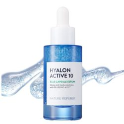 Nature Republic Hyalon Active 10 Blue Capsule Serum korean skincare product online shop malaysia China hong kong0
