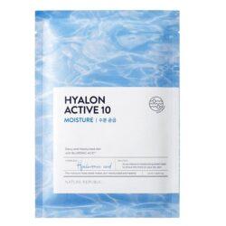 Nature Republic Hyalon Active 10 Moisture Mask Sheet korean skincare product online shop malaysia macau vietnam