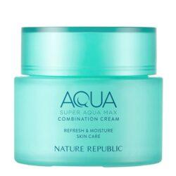 Nature Republic Super Aqua Max Combination Cream korean skincare product online shop malaysia china usa00