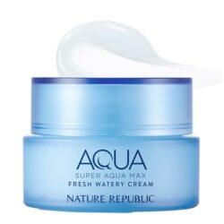 Nature Republic Super Aqua Max Fresh Watery Cream 80ml (for oily skin) korean skincare product online shop malaysia china usa