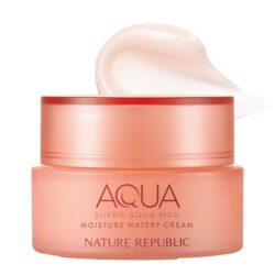 Nature Republic Super Aqua Max Moisture Watery Cream 80ml (for dry skin) korean skincare product online shop malaysia china usa