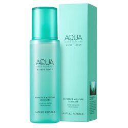 Nature Republic Super Aqua Max Watery Toner korean skincare product online shop malaysia macau vietnam