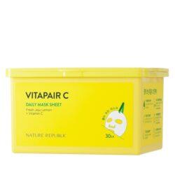 Nature Republic Vitapair C Daily Mask Sheet korean skincare product online shop malaysia macau vietnam